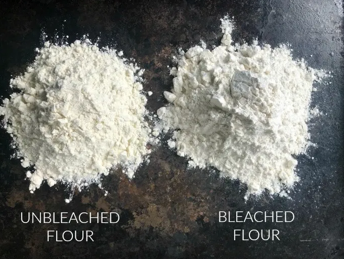 Bleached vs Unbleached Flour
