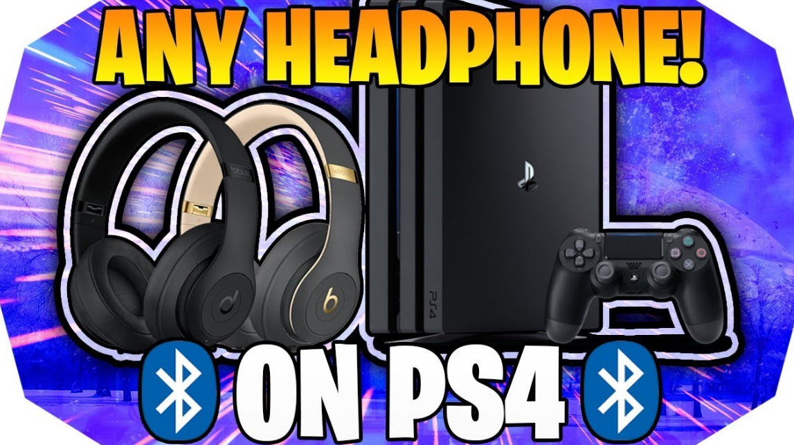 Connect Any Bluetooth Headphones to PS4