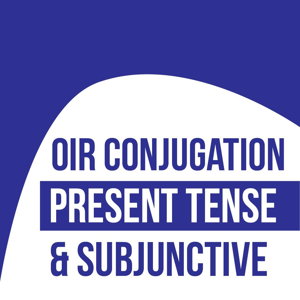 Oir Conjugation