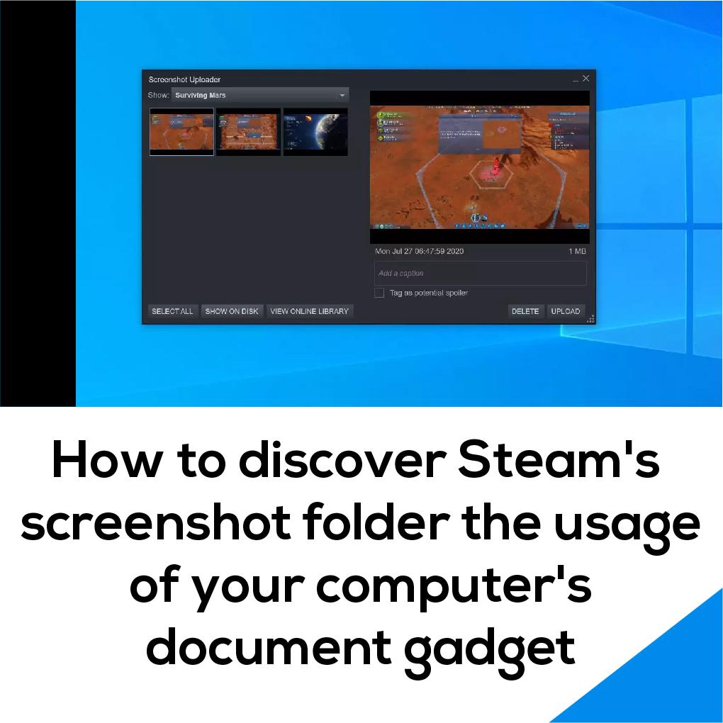 Steam Default Screenshot Folder